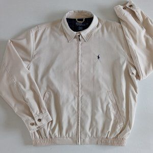 Vintage Polo Ralph Lauren beige Harrington jacket